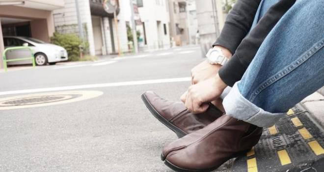 着物に合わせても面白そう!日本古来の皮足袋をレザーシューズで蘇らせた「レザーTabi」