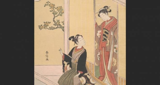 やっぱり浮世絵師・鈴木春信が好き!代表作「風俗四季哥仙」に観る春信の魅力 その1