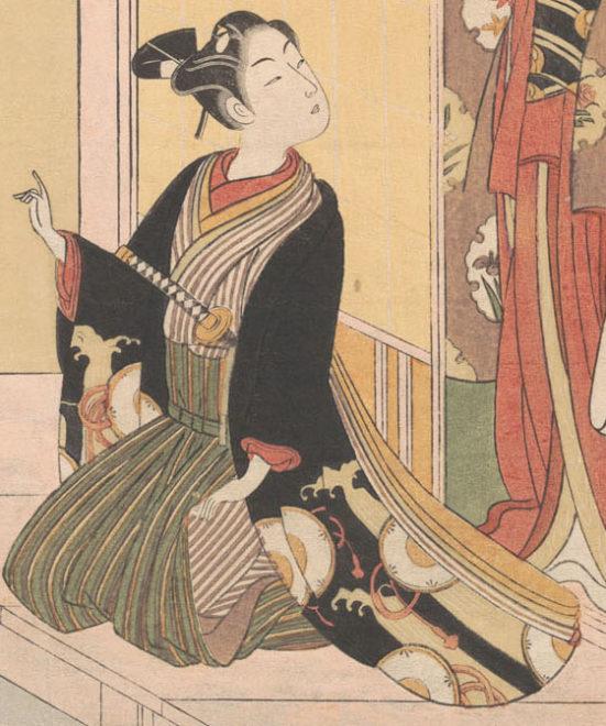風俗四季哥仙 立春(男性の部分)