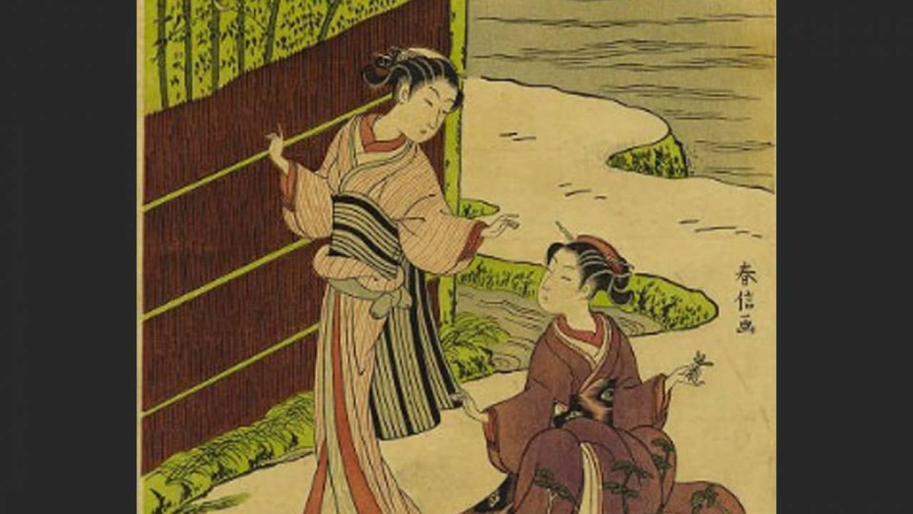 やっぱり浮世絵師・鈴木春信が好き!代表作「風俗四季哥仙」に観る春信の魅力 その2