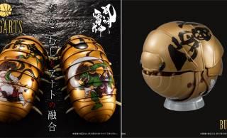 えっと、なんで融合した?(笑)日本画・風神雷神図とだんごむしの融合「BUGARTS 風神雷神図」新発売