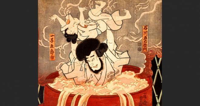 息子ごと釜茹で処刑された大泥棒・石川五右衛門、実際の刑は釜茹でではなかった?