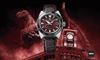 世界650本限定!ゴジラの力強さと威厳を身に纏った腕時計がグランドセイコーから登場