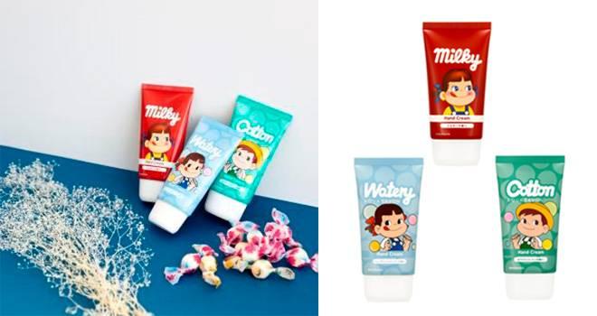 ミルキーはママの香り?不二家のお馴染みキャンディ「ミルキー」の香りを再現したハンドクリーム発売!
