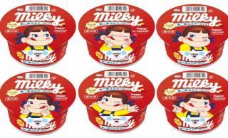 ミルキー風の練乳も入った濃厚でコクのあるアイス「不二家 ミルキーカップ」発売!