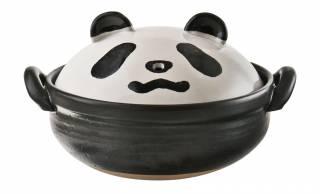 可愛すぎだろ♡鼻の穴から蒸気が噴き出す土鍋「パンダナンダ鍋」がカルディから新登場!