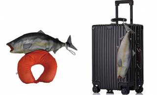 お母さん鮭からイクラのネックピローが!鮭の2WAYネックピロークッションがシュールすぎる(笑)