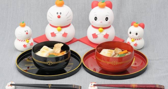 あけましてドラえもん!数量限定のドラえもん鏡餅フィギュア&和食器がとってもキュート!