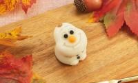 アナのためなら食べてもいいよ♡アナと雪の女王の「オラフ」が可愛い和菓子になった!