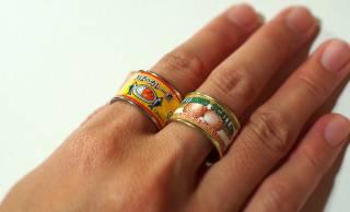 忠実再現(笑)お馴染みのあの缶詰たちがトキメキの指輪になった「缶詰リングコレクション」が秀逸すぎ!
