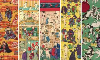 日本人は昔から擬人化好き♡猫を擬人化させたキュートな浮世絵「おもちゃ絵」を一挙紹介!