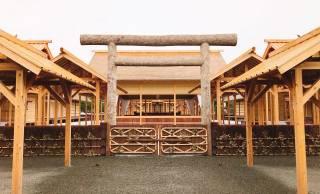 次の改元まで見られない!取り壊される皇居東御苑「大嘗宮」が12月8日まで一般公開中!その1