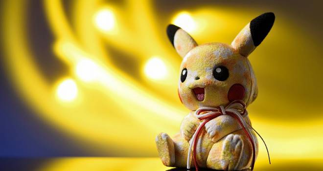 なんだこの可愛さ♡愛らしさそのままにピカチュウを伝統工芸「江戸木目込み人形」で再現