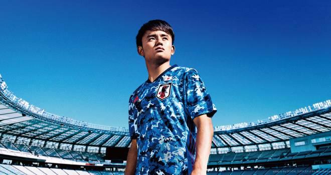 テーマは日本晴れ!浮世絵から着想を得たサッカー日本代表の新ユニフォーム発表!