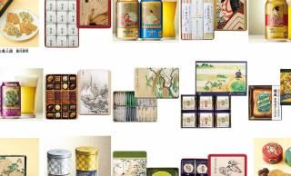 三越伊勢丹と東京国立博物館のコラボによるお歳暮ギフトの缶パッケージが素敵!