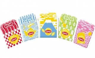 やだ素敵デザイン♡「リプトン」がお守りの形になる和風デザインのティーバッグを発売!