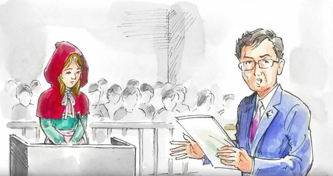 これジワる(笑)童話の桃太郎と赤ずきんをネタにした裁判員制度10周年ムービーがシュールすぎる