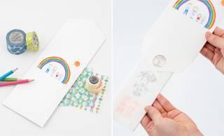 絵を描いたり、シールを貼ったり、自由にデザインしておまつりできる「家族でつくる神棚」が発売