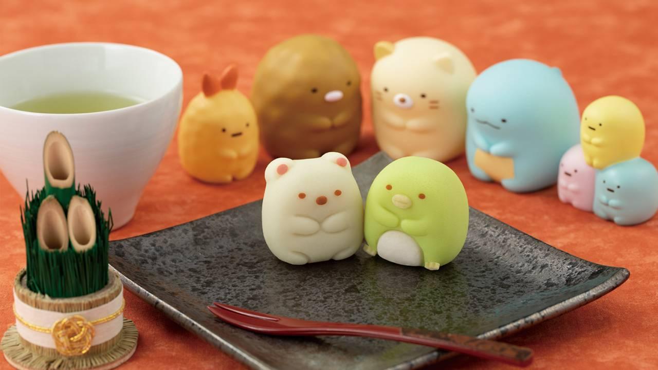 練り切りで見事に再現!「すみっコぐらし」がほっこり可愛い和菓子になりました