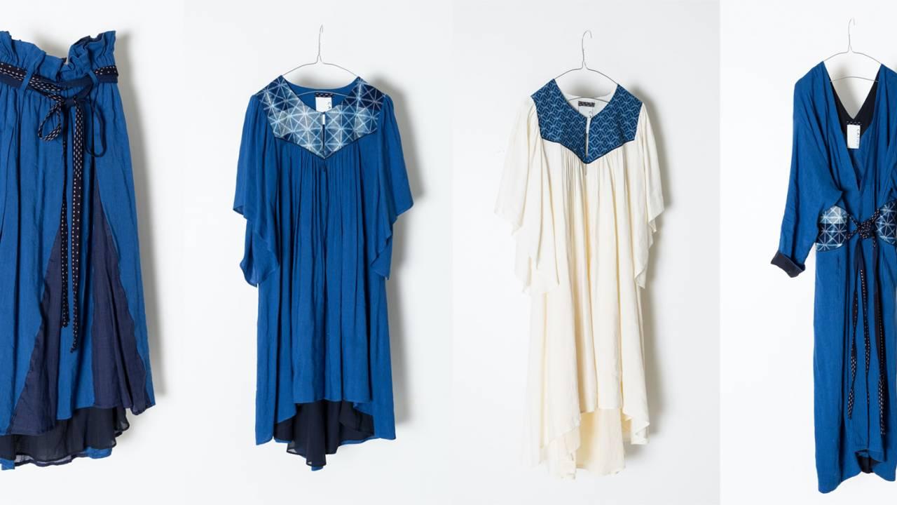 福岡県に伝わる綿織物・久留米絣の新ブランド「CATHRI」が誕生!BEAMS Planetsが監修