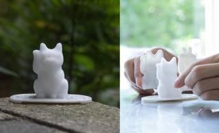 可愛すぎるよ〜♡招き猫型の盛り塩がカンタンに作れちゃう「にゃんでも招き猫メーカー」