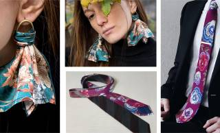 ヴィンテージ着物に新たな価値を与える「renacnatta」から京都の伝統産業と高級シルクが融合した新アイテム!