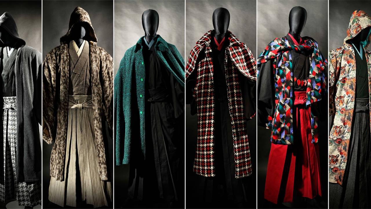 攻めデザインに刮目せよ!男の着物「和次元 滴や」のアバンギャルドな男着物コートがスゴいぞ!