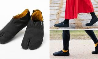 目の付け所がナイス!伝統的な履物「足半」に着目した足指が鍛えられる足袋シューズ
