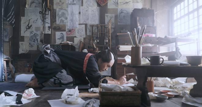 初日は5月29日!絵師・葛飾北斎の生涯を描く映画「HOKUSAI」の特報映像&場面写真が解禁!
