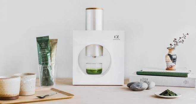 これ素敵!茶葉を挽いてフレッシュで美味しい抹茶が簡単に楽しめる「Cuzen Matcha」