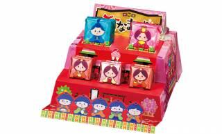甘〜い雛まつりを味わう♪箱を組み立てると立体的なひな壇に変身するBOX型チロルチョコ発売