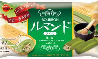 サクサク感を存分に♪抹茶クリームで包んだミニルマンドが入った「ルマンドアイス抹茶」発売