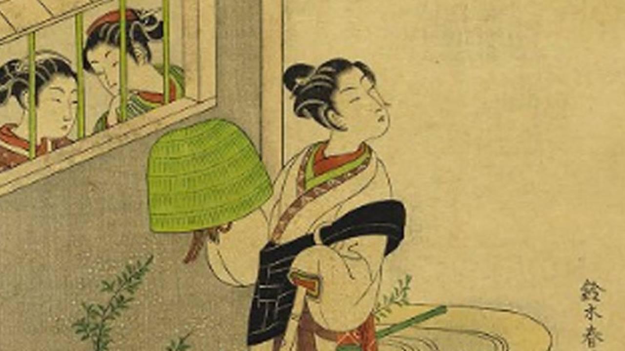 虚無僧がイケてる?江戸時代に実際にあったファッションとしての虚無僧スタイル!鈴木春信の魅力 その5パート3