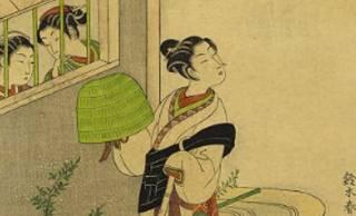 虚無僧がイケてる?江戸時代に実際にあったファッションとしての虚無僧スタイル!鈴木春信の魅力 その5 パート2