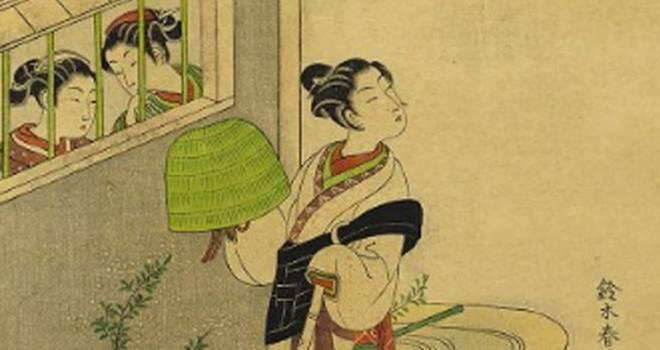 虚無僧がイケてる?江戸時代に実際にあったファッションとしての虚無僧スタイル!鈴木春信の魅力 その5