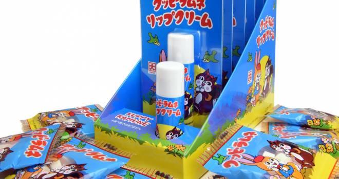 パッケージ可愛すぎでしょ♡懐かしの「クッピーラムネ」がリップクリームになったよ!
