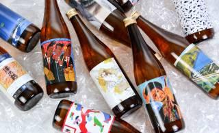 日本酒の蔵元「沢の鶴」と13名のアーティストによるアートラベルのコラボが実現!