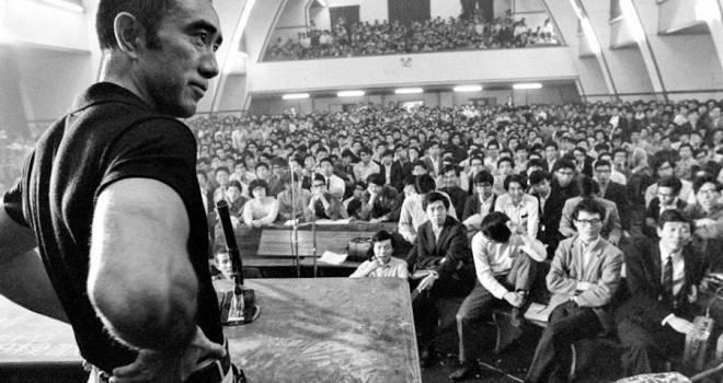 1969年5月の伝説の討論会を高精細映像で「三島由紀夫vs東大全共闘」の予告編が解禁!