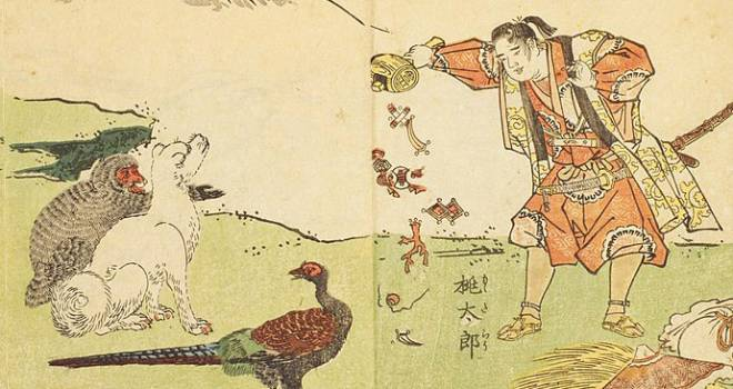 桃太郎には桃から生まれた「果生型」と、おばあさんが若返る「回春型」の2パターンある【1】
