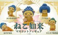 猫ちゃんと仏像が何故か合体!?「ねこ如来」がミニフィギュアになって登場