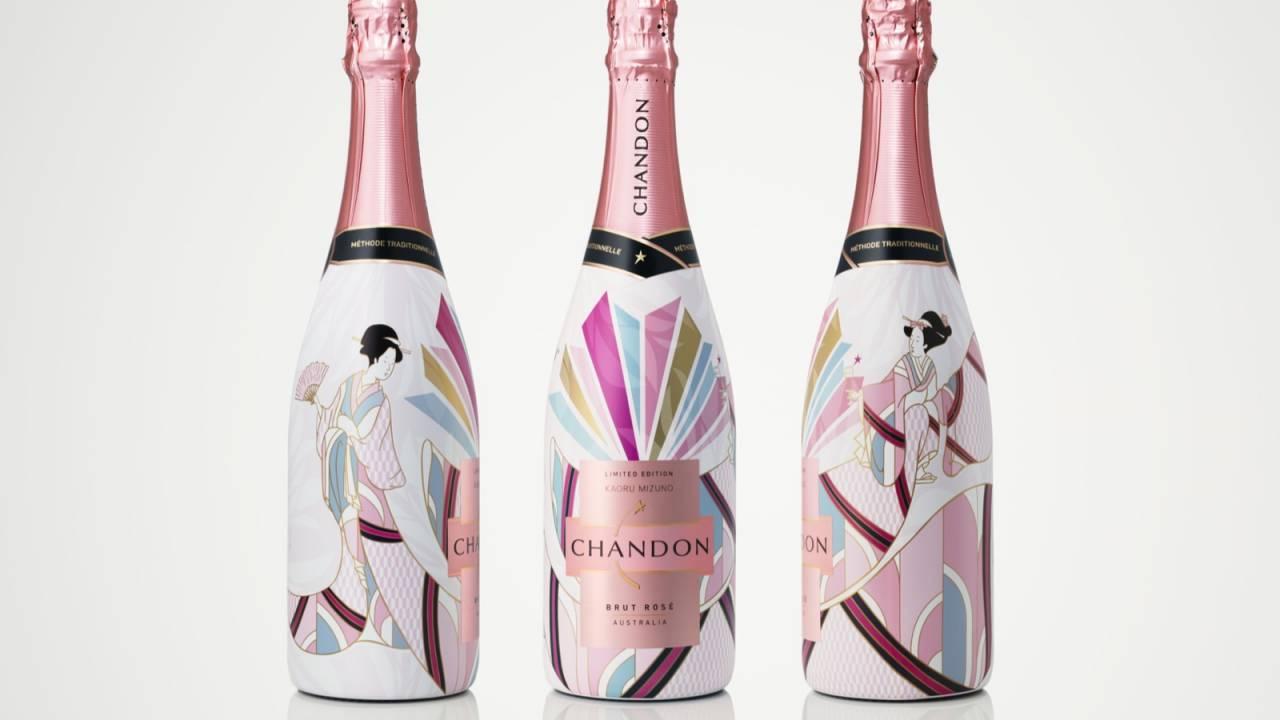 日本人が心に刻んできた春を愛でる喜びを表現したボトルデザインのスパークリングワインが素敵!