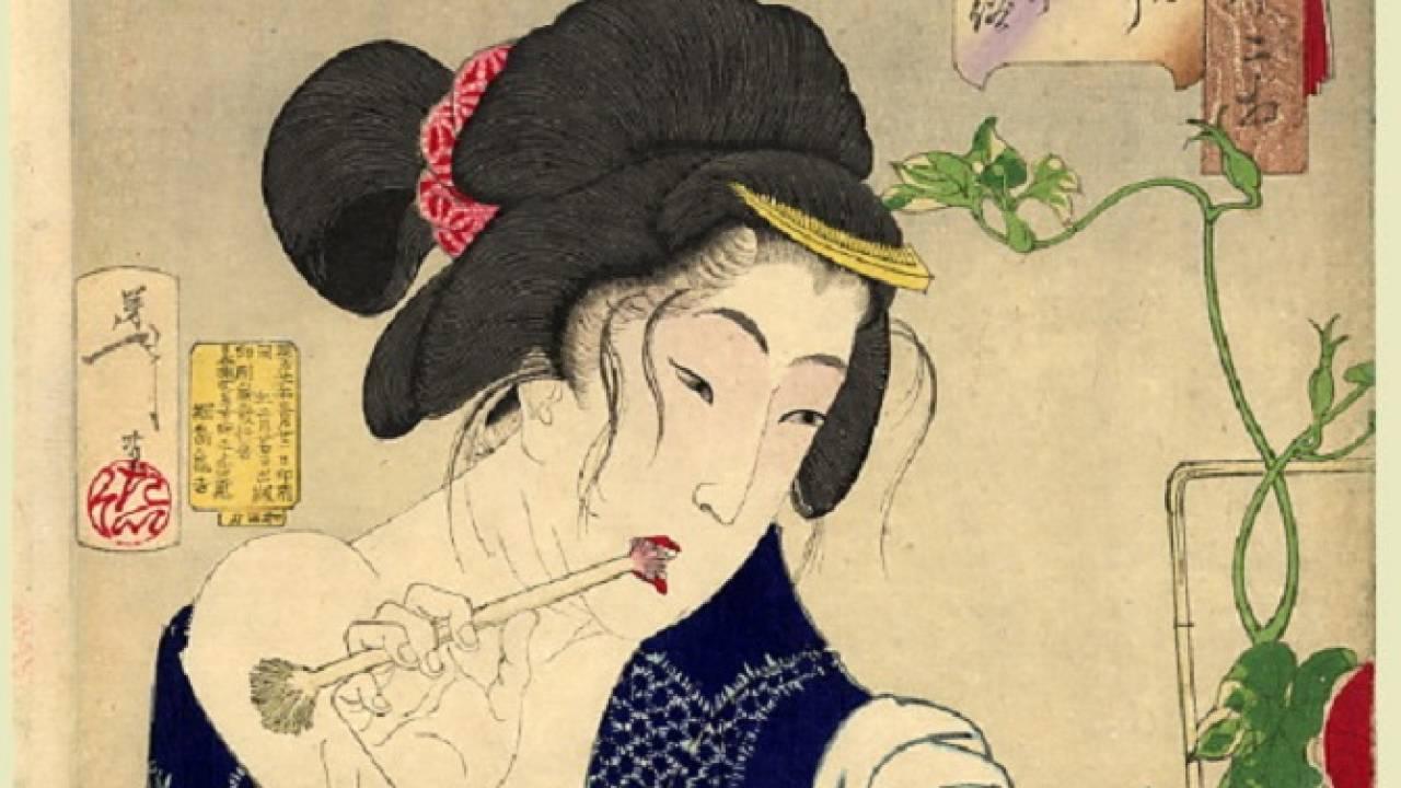 江戸時代の遊女が実践してた客を満足させる方法。必須アイテムは歯ブラシにフノリ!?