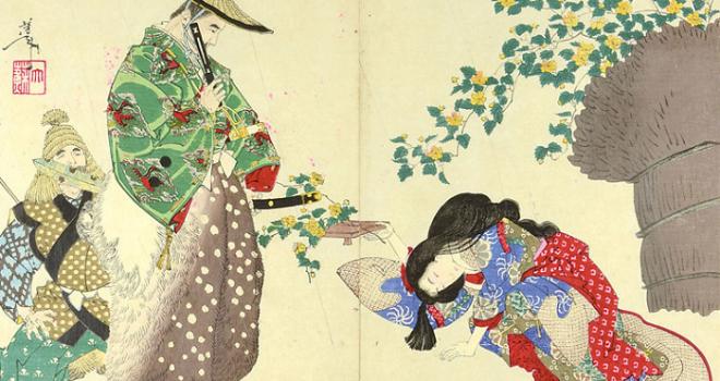 山吹の花から和歌に目覚めた戦国武将・太田道灌のエピソード