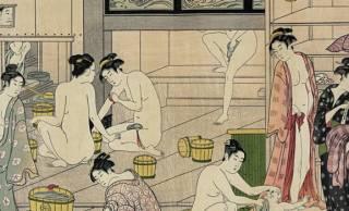 混浴パラダイス!?めくるめく江戸時代の「湯屋」の内部をちょっぴりのぞき見