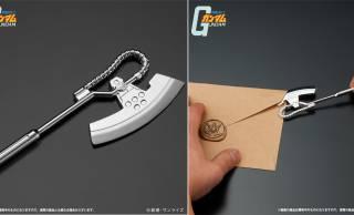 ガンダムに登場するザクの斧型兵器「ヒートホーク」がペーパーナイフになった!