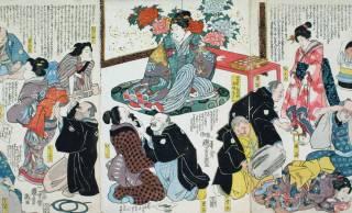 江戸時代、インフルエンザの流行に対して「久松留守」と貼り紙をする予防法があった!?