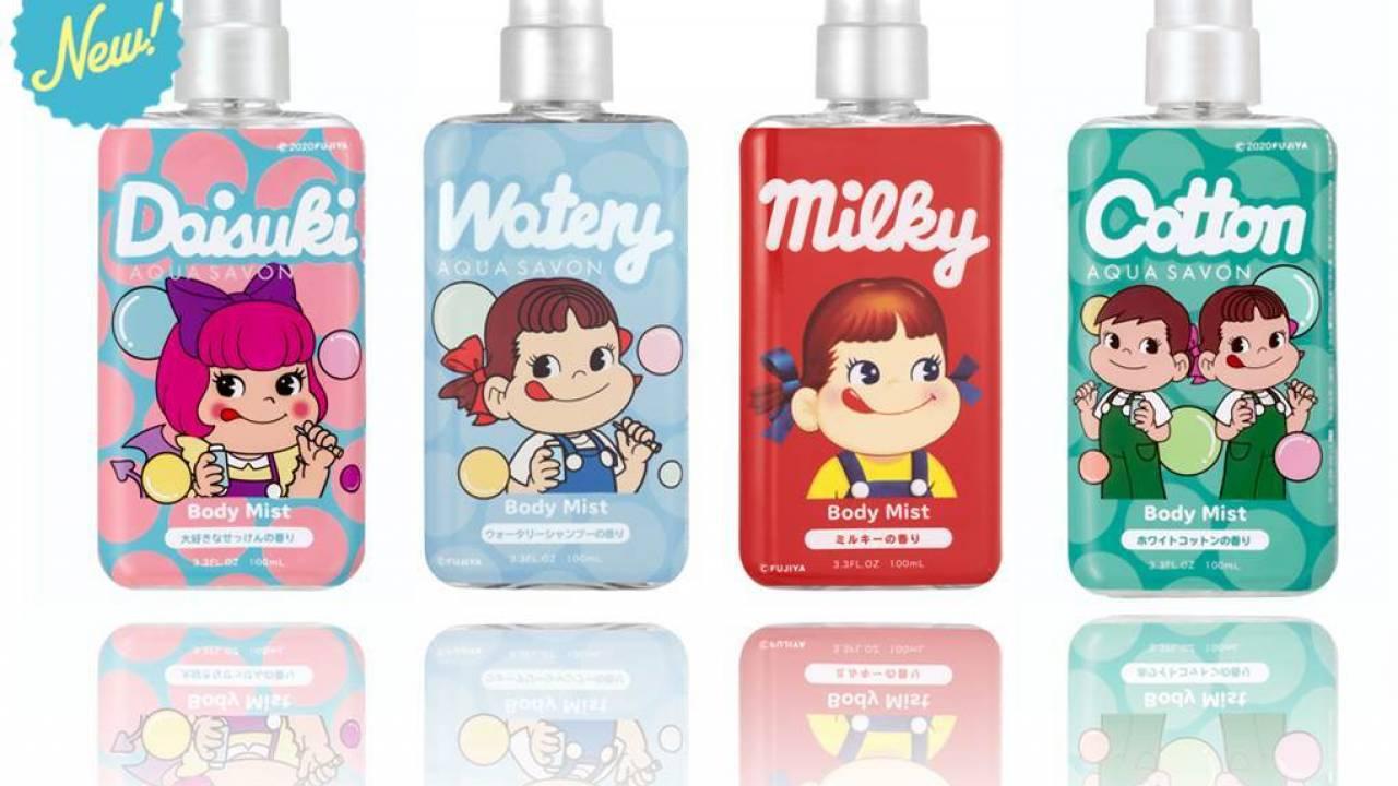 不二家の定番キャンディ「ミルキー」の香りを再現したボディミストが再発売決定!