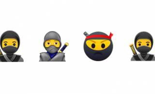 つ、遂に忍者!スマホで使われる世界共通の「Unicode絵文字」に忍者アイコン登場