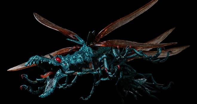 風の谷のナウシカに登場する虫「大王ヤンマ」が超絶リアルな可動式フィギュアになった!
