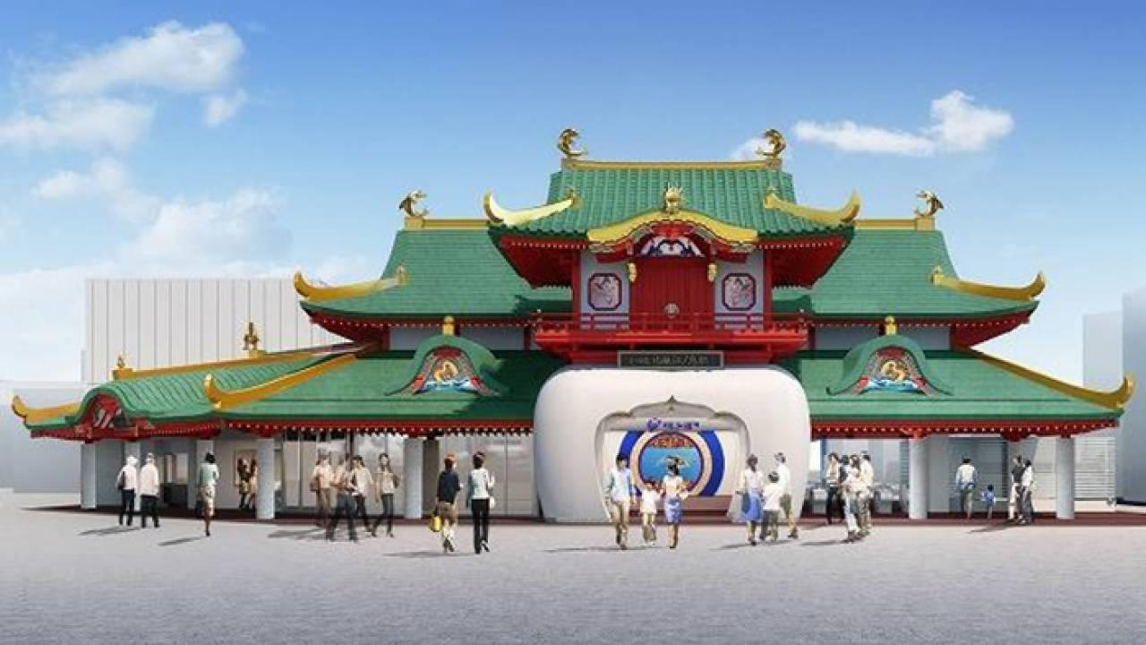 さらに龍宮感マシマシ!片瀬江ノ島駅の駅舎が「竜宮造り」の技法を採り入れ本格派の龍宮城に